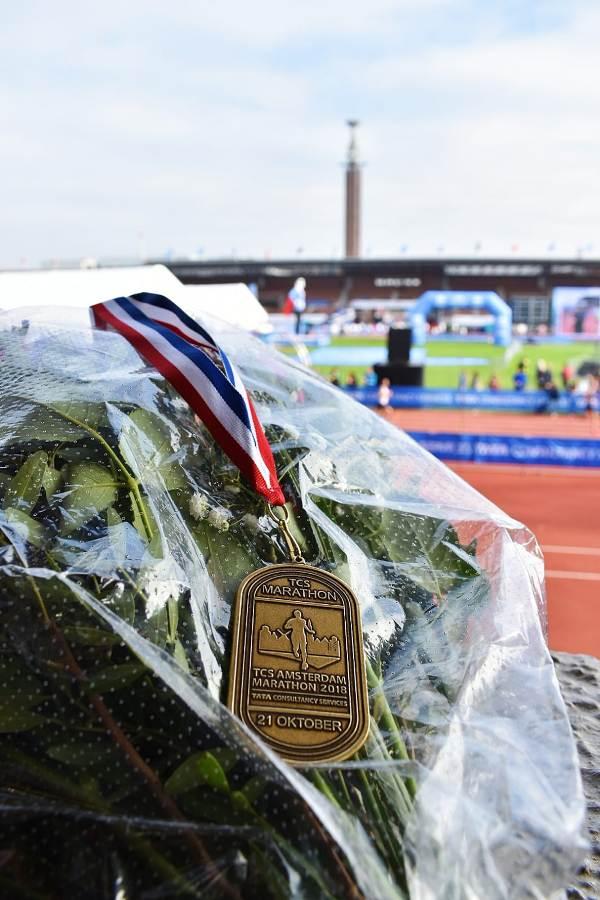 Bronzen medaille bij NK marathon in Amsterdam – Gert-Jan Wassink